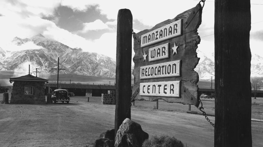 entrance-to-manzanar_ansel-adams